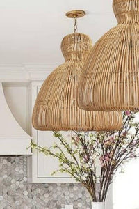 Wintour Rattan Pendant Light
