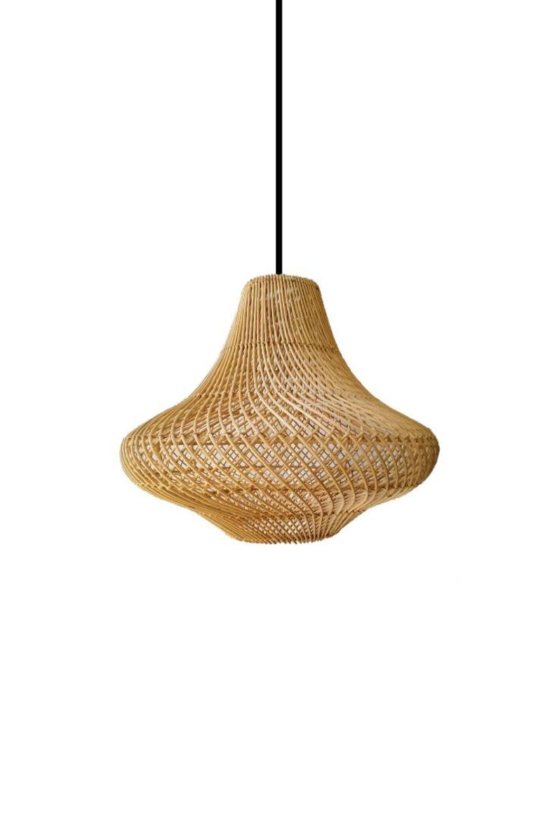 Pasadena Rattan Pendant Light