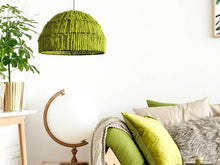 Load image into Gallery viewer, How to Decorating With Ryann Lime Green Color Pendant Light