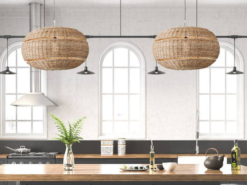 Ventura rattan pendant light