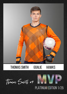 MVP Sports Trading Card Template