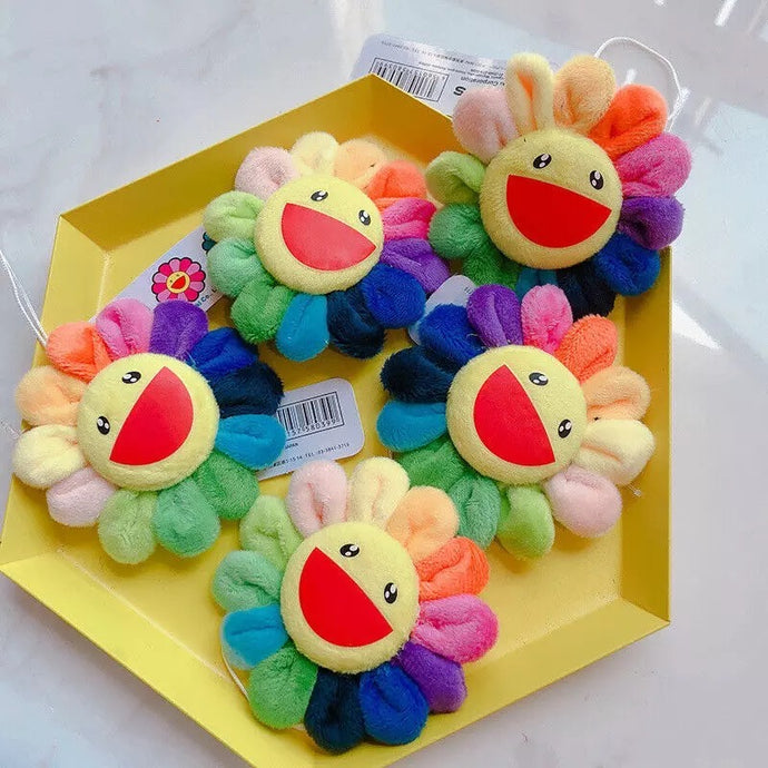Flower Plush Pin