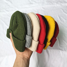Load image into Gallery viewer, Plain Knit Beanie