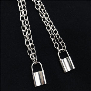 Chain Necklace with Lock
