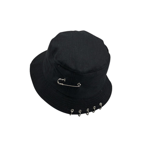 Hoop-Accent Bucket Hat