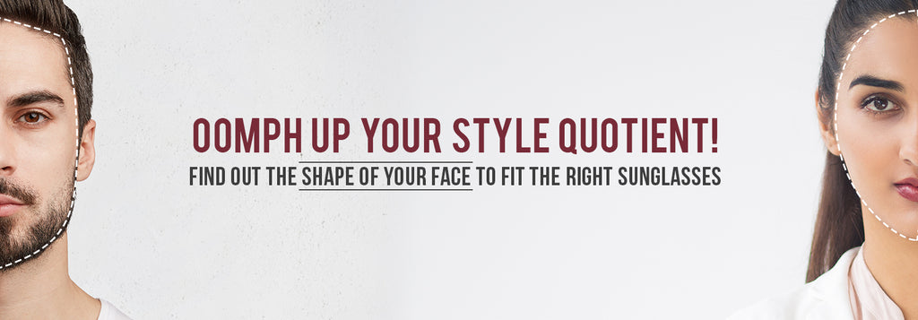 To know your face shape banner image