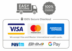 100% Secure Checkout