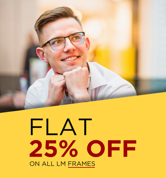 Offer- Flat 20% OFF on Frames Banner