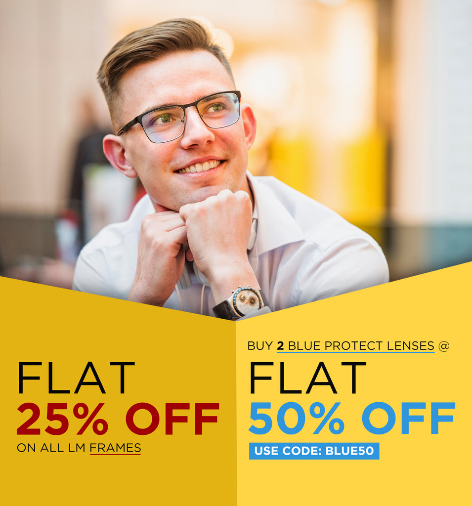 Offer- Flat 25% OFF on LM Frames