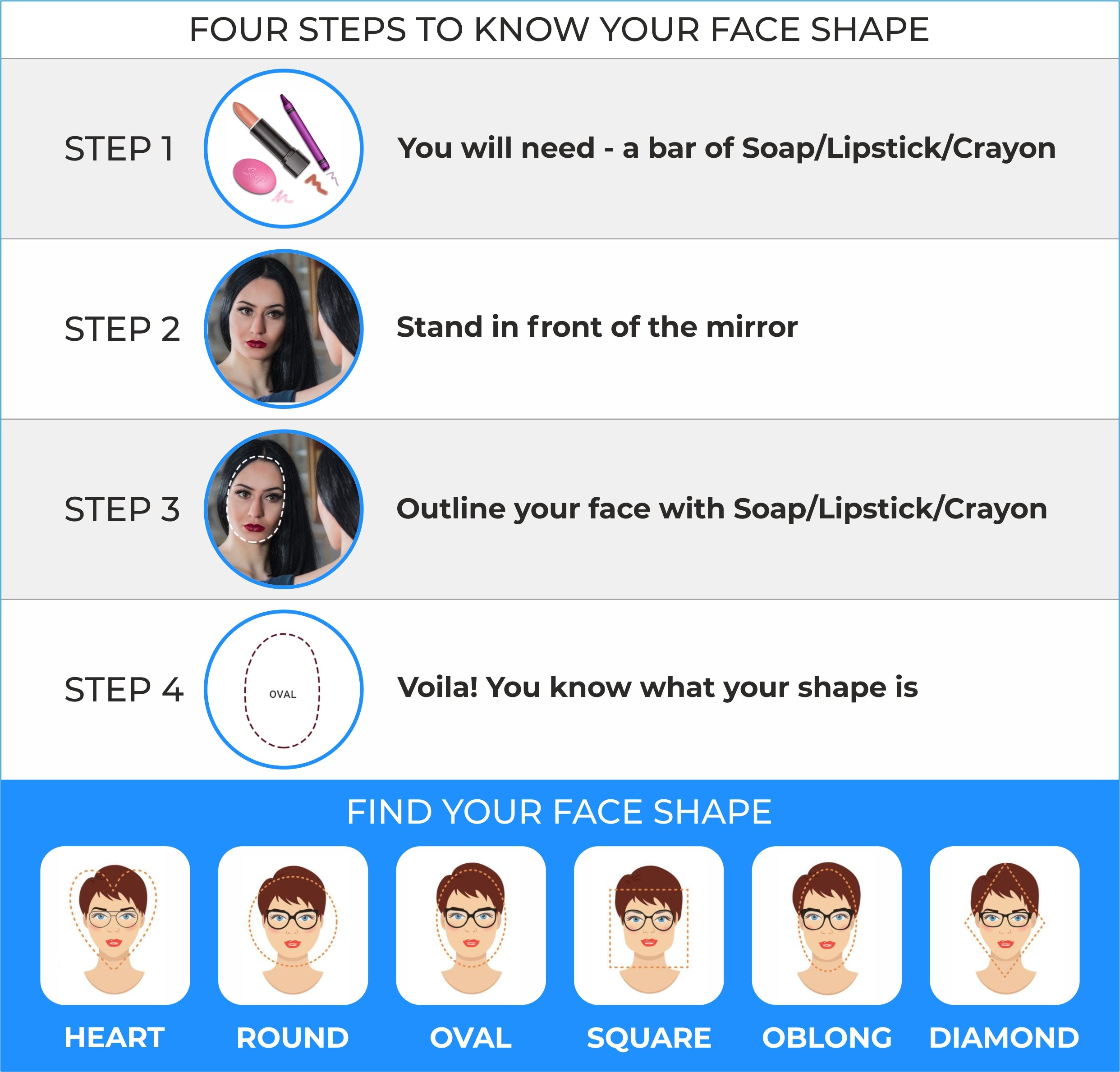 Find sunglasses as per your face shape