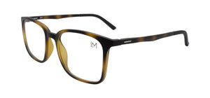 Matte Havana Clip-On frame 45 degree