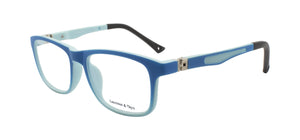 LM JUNIOR M1601 Blue 45degree