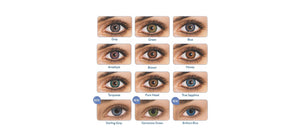 Freshlook Contact Lens all colour options