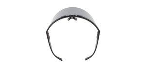 SUN VISOR BLACK GREY