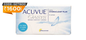 Acuvue Oasys Contact Lenses front image
