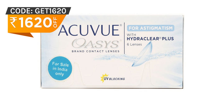 Acuvue Oasys for Astigmatism front image