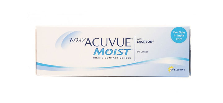 1-Day Acuvue Moist 30 Lenses pack front image