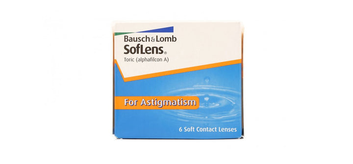 Bausch & Lomb - SofLens Toric for Astigmatism 6 lenses box front image