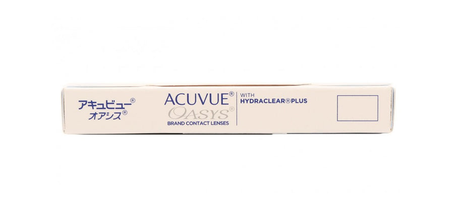 Acuvue Oasys Contact Lenses top image