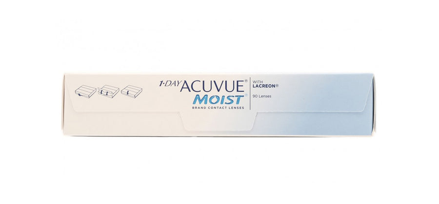 Acuvue Moist Contact Lenses side image