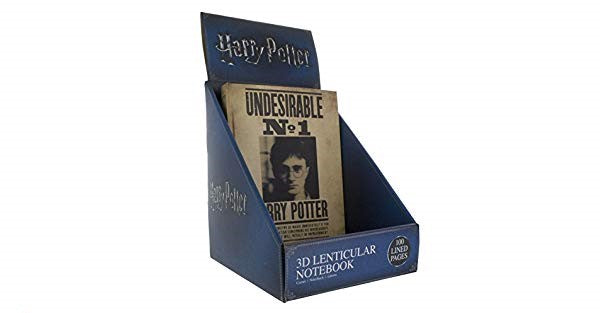 Libreta 3D de Harry Potter