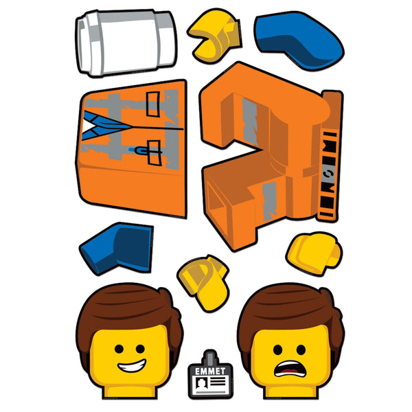 Staticker Emmet LEGO® Movie 2