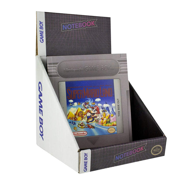 Libreta en Forma de Cartucho de Game Boy
