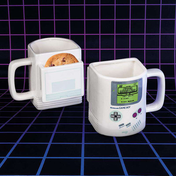 Taza Galletera en Forma de Game Boy
