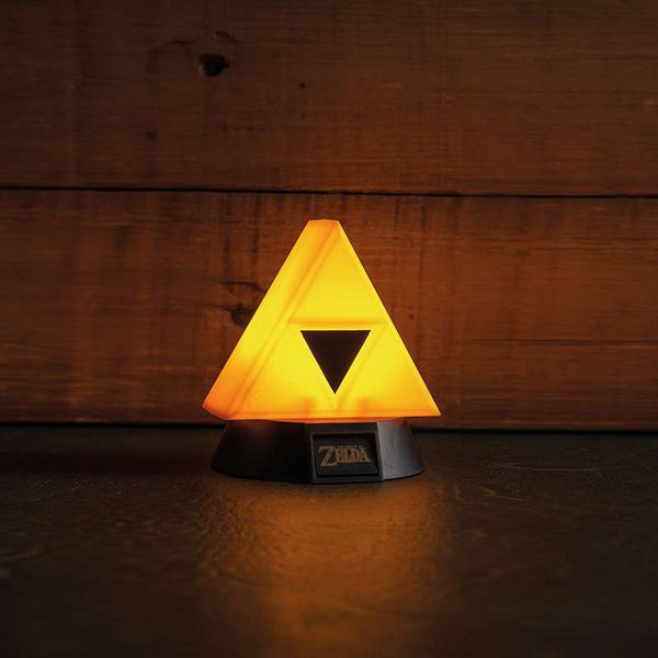 Lámpara 3D de la Trifuerza (The Legend of Zelda)
