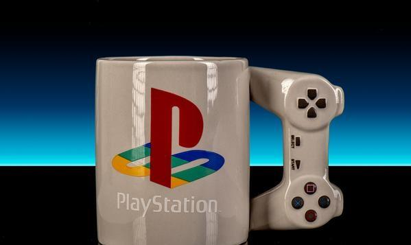 Taza en Forma de PlayStation