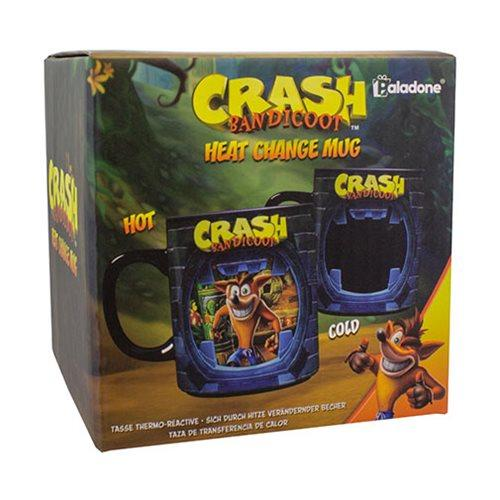 Taza Termosensible de Crash Bandicoot