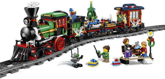 Make Your Lego Winter Holiday Train 10254 Set Christmas Decoration Center Of Attraction