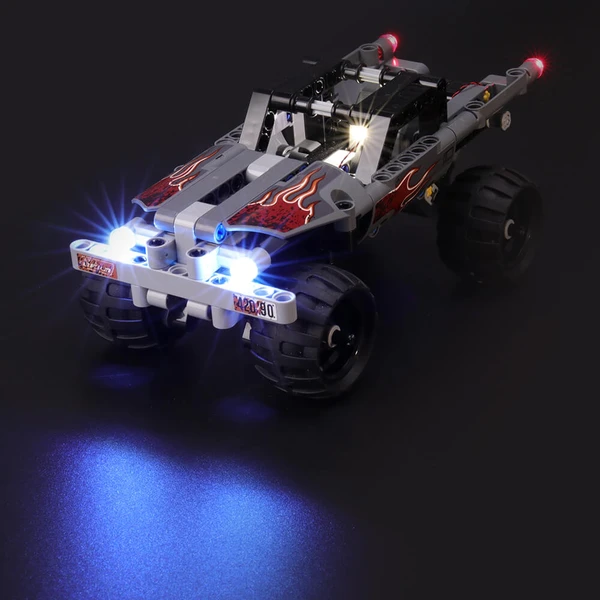 Enjoy High-Speed Action With The Lighting Lego Technic 42090 Getaway Truck!