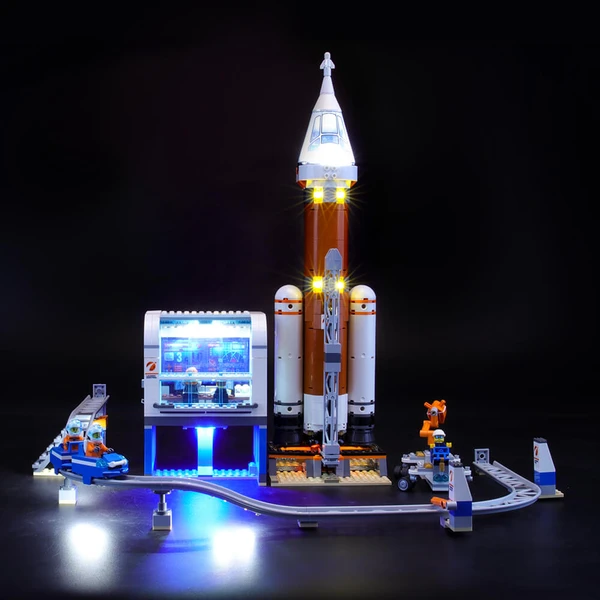 The Excitement Of Space Travel With Deep Space Rocket and Launch Control 60228