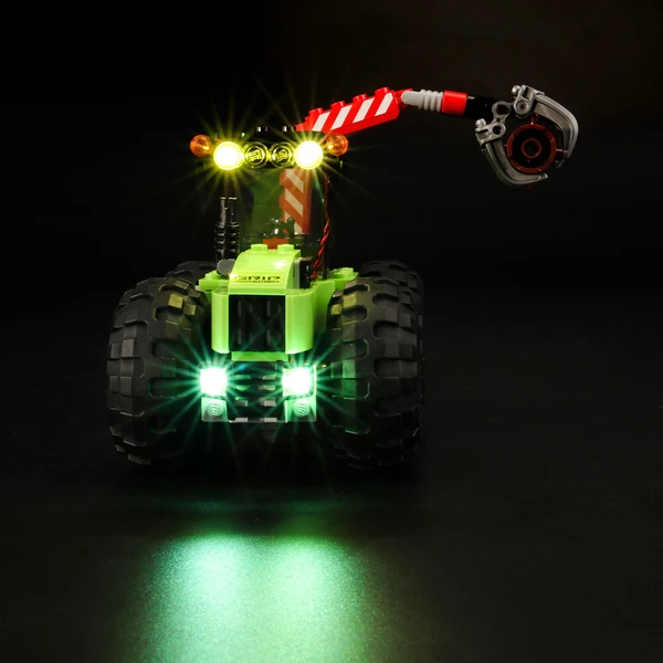 This Lighting Cool Logging Lego Forest Tracto 60181 Will Still Your Heart