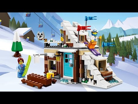 Enjoy Active Adventures With The Modular Winter Vacation 31080 Set