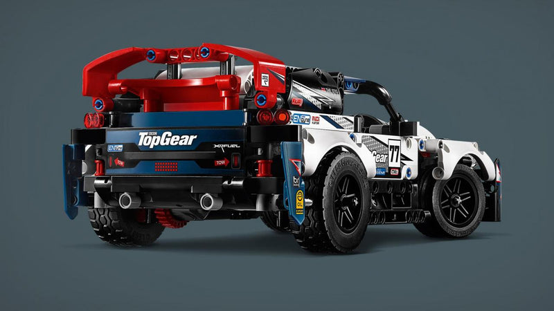 Unlock The Impressive Build With Light For App-Controlled Top Gear Rally Car 42109