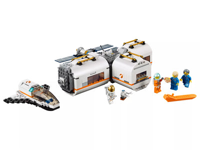 Explore The Lunar Space Station With Lighting Lego Set