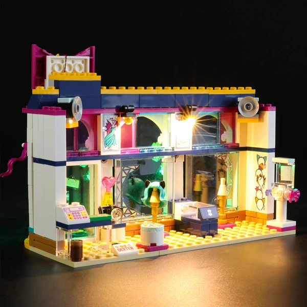 Find a New Look At Lego Friends 41344 Andrea's Accessories Store