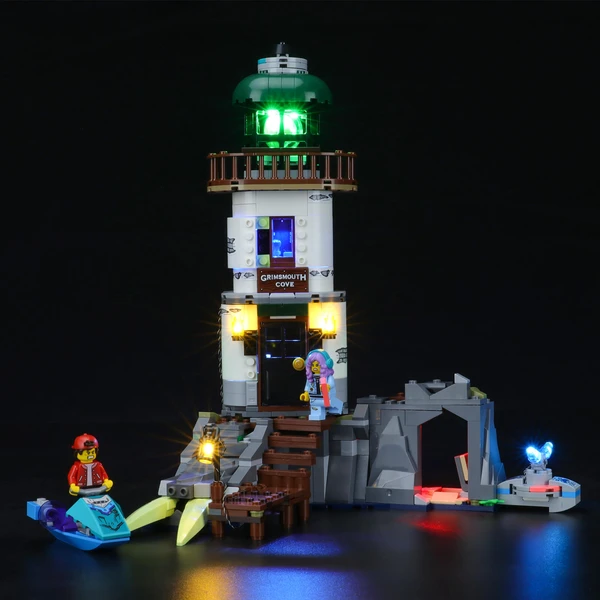 Awesome Creative Play: The Lighthouse of Darkness 70431 Set