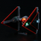 A Lighting Galaxy Of Adventure: Lego Sith TIE Fighter 75272