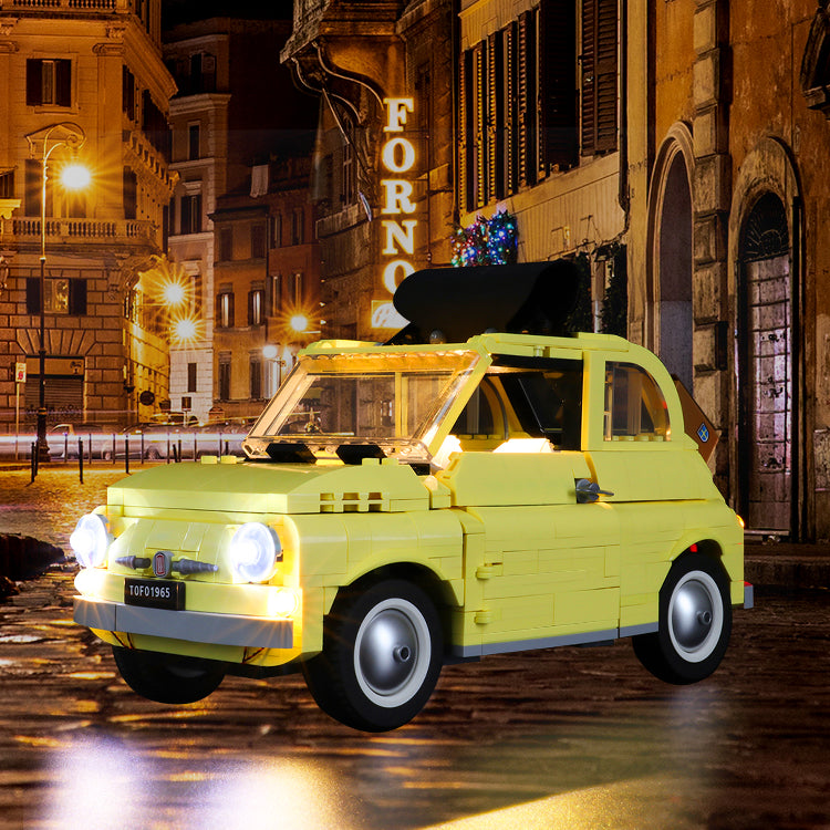 A True Icon Of Classic Automotive Design Model Fiat 500 10271 Set