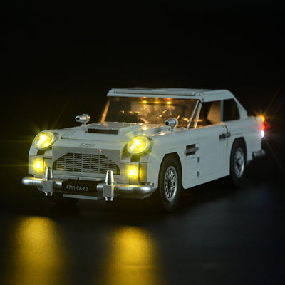 What a wonderful Lego James Bond Aston Martin DB5 10262!