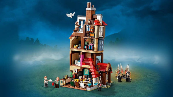 Recreate The Magical Most Dramatical Scenes From HarryPotter With Attack on The Burrow 75980