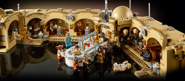 The Star Wars: Awesome LEGO Mos Eisley Cantina 75290 Set