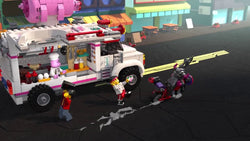 Action-Packed Playtime Adventures with Lighting Pigsy's Food Truck 80009
