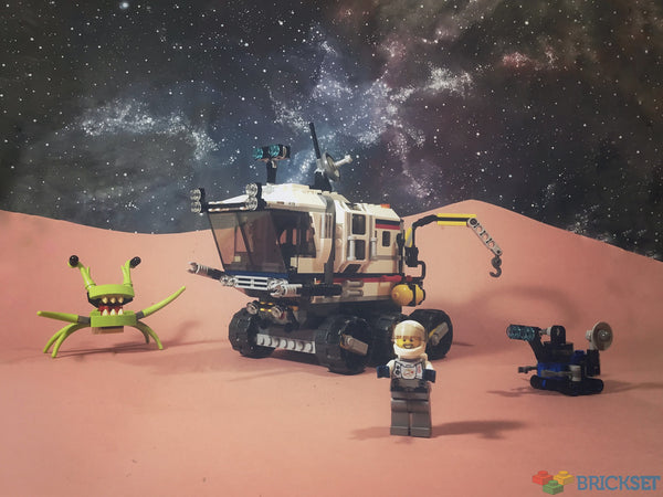Endless Space Adventures with Lego Space Rover Explorer 31107