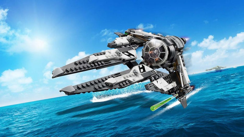 The Amazing Lego Star Wars 75242 Black Ace TIE Interceptor Fighter