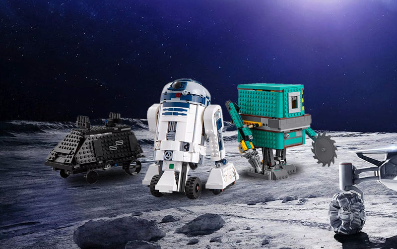 LEGO New StarWars Boost Droid Commander Set Of Three Different Droids R2-D2, The Gonk Droid, and The Mouse Droid