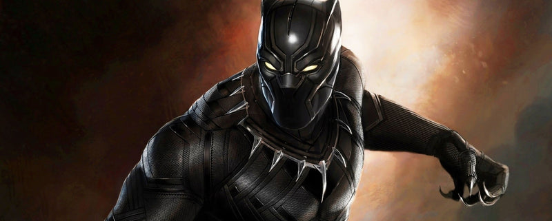 Lighting Super Heroes Black Panther: Royal Talon Fighter Attack